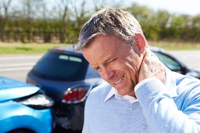 Man in need of auto injury treatment in Tallahassee